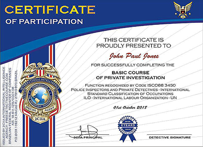 Free Detective Courses online with certificate and optional
